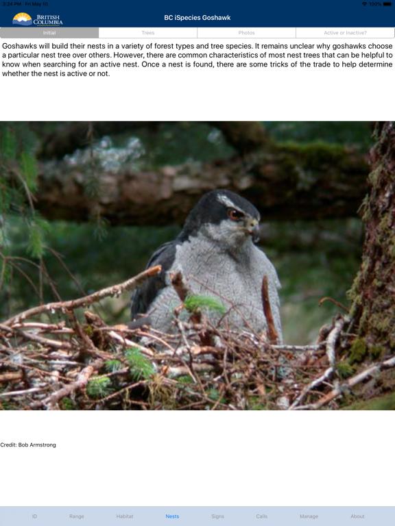 BC iSpecies Goshawk screenshot 6