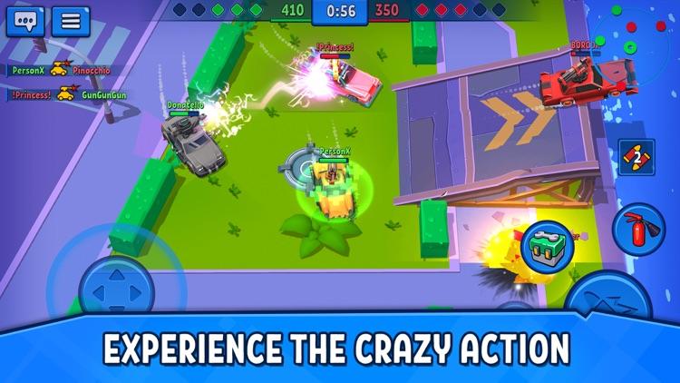 Rage of Car Force: Crash Road screenshot-6