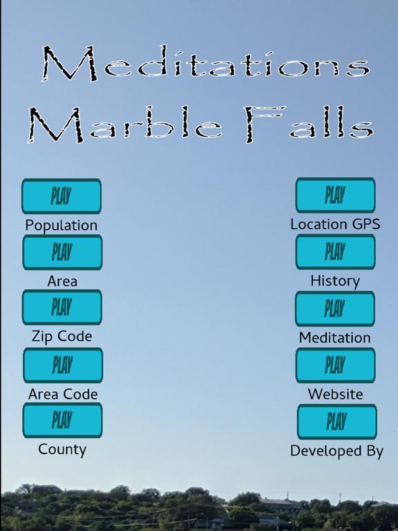 Meditations: Marble Falls screenshot 4