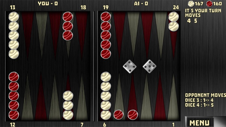 Backgammon with 16 Games screenshot-4