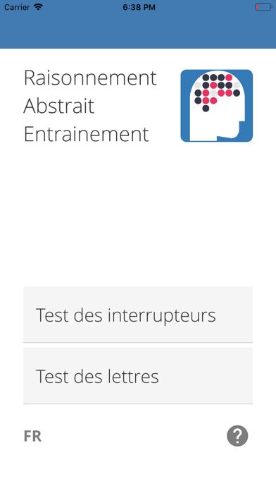 Test de Raisonnement Abstrait Screenshot