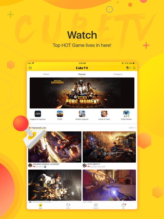Cube TV – Live Games Community screenshot 7