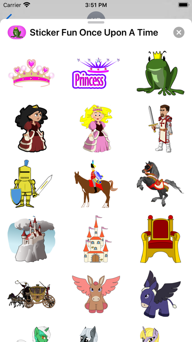 Sticker Fun Once Upon A Time screenshot two