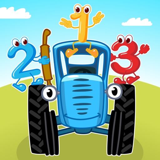 Синий Трактор Игры для Малышей