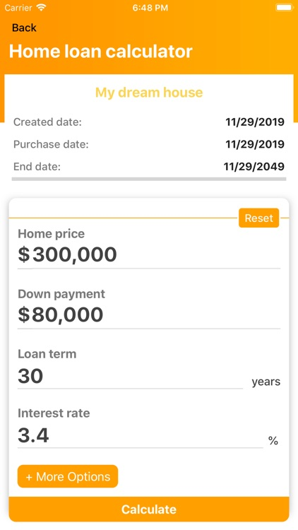 Mortgage payment calculator ND screenshot-4