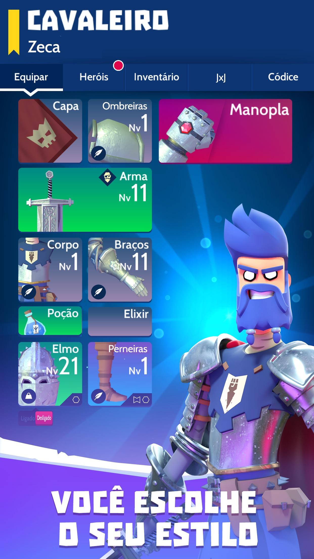 Screenshot do app Knighthood