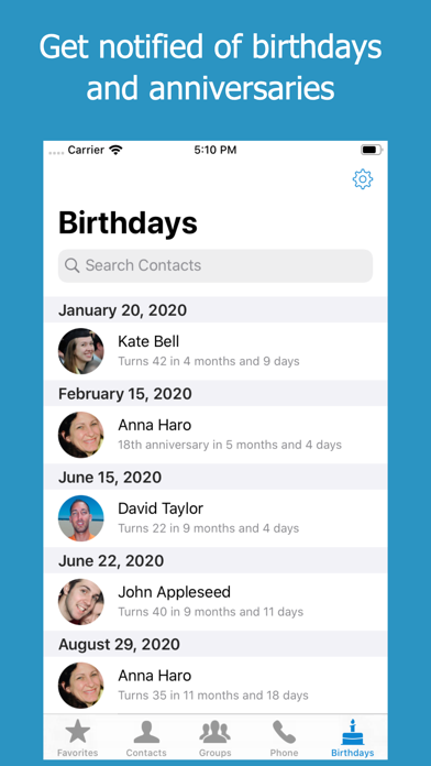 ContactsXL 2 screenshot 5