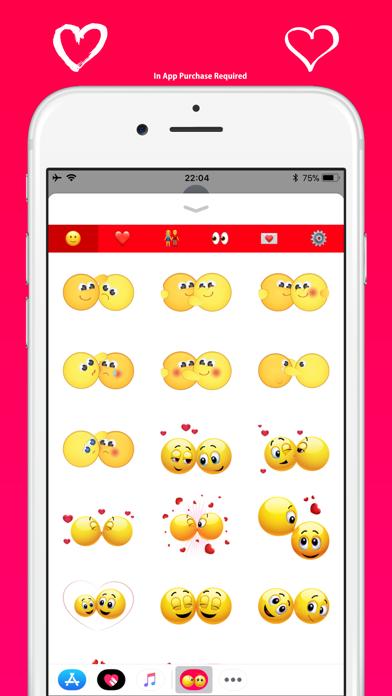 ラブ絵文字 - メッセージのかわいい絵文字のスクリーンショット3