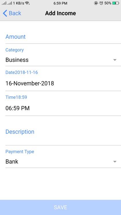 Expense Manager. screenshot-3