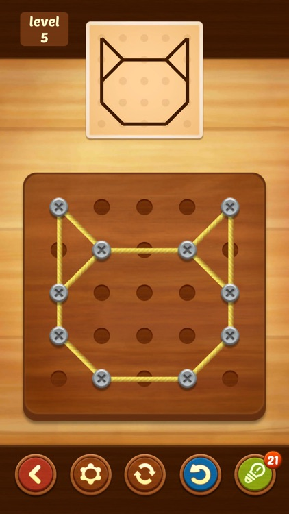 Line Puzzle: String Art screenshot-1