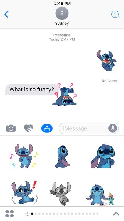 Disney Stickers: Stitch screenshot-4
