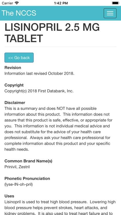 The NCCS - App screenshot-5