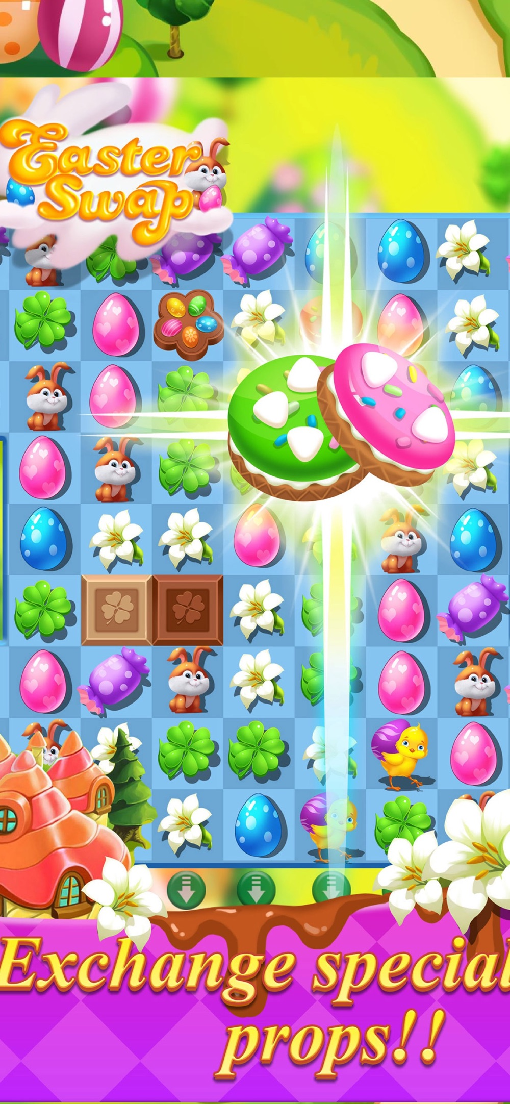 Easter Swap – Coloring Holiday Cheat Codes