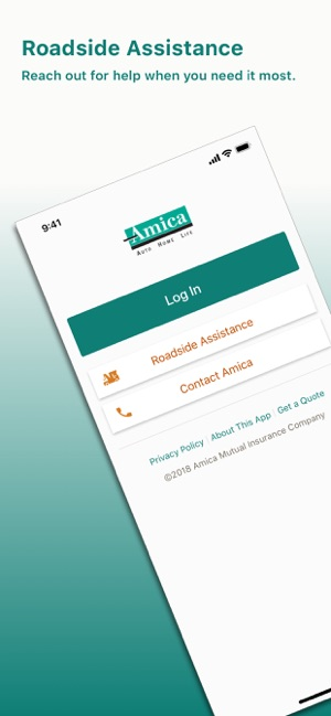 Amica Insurance Company >> Amica On The App Store