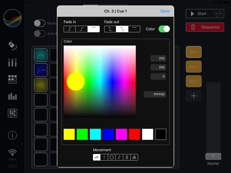 StageLight - DMX Controller screenshot-5