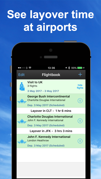 Screenshot for mi Flight Tracker Pro Radar 24 in South Africa App Store