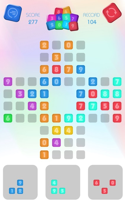Numbers Block Puzzle - Match 3 screenshot-5