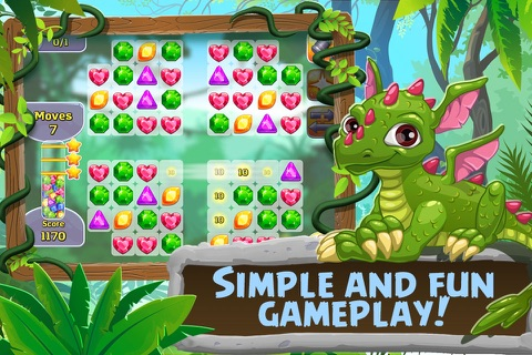 3 Candy: Gems And Dragons - náhled