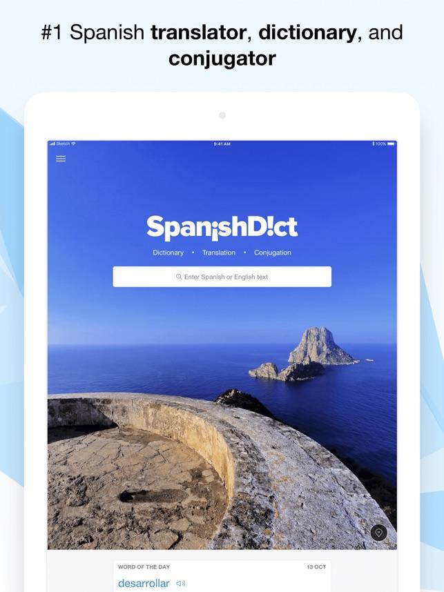 SpanishDict Translator on the App Store