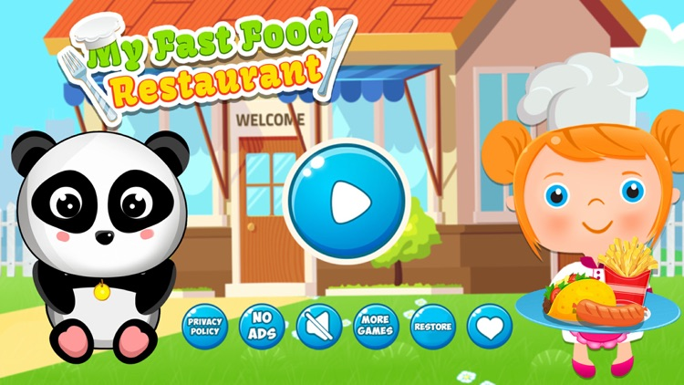 My Fast Food Cafe Kitchen