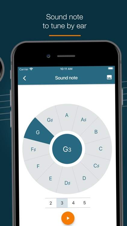 Pitched Tuner - Tuning App