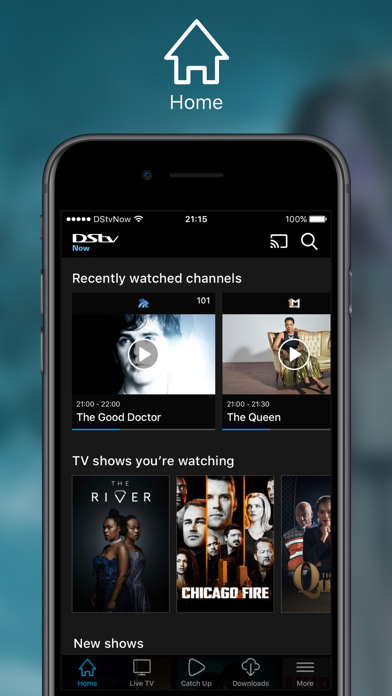 Download DStv Now: Watch live on the go for Pc