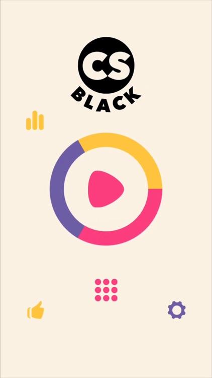 Circle Smash: Black screenshot-0