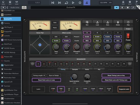 EvolverFX AUv3 Audio Plugin screenshot 16