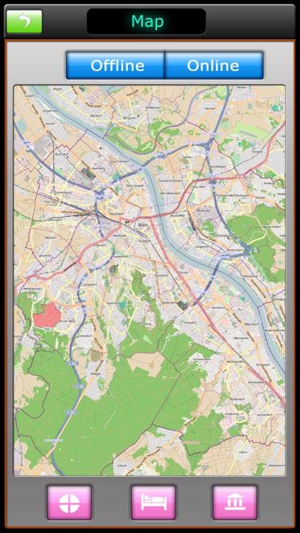 Bonn Offline Map Travel Guide screenshot-4
