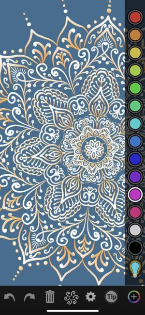 iOrnament: draw mandala & art Screenshot