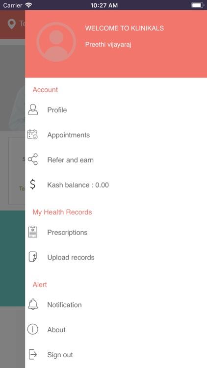 Klinikals - Get Better Care screenshot-4