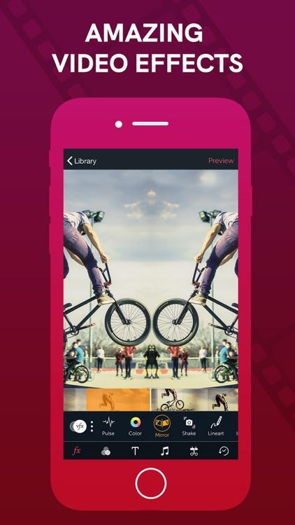 Vizmato: Video Editor & Filter screenshot-3