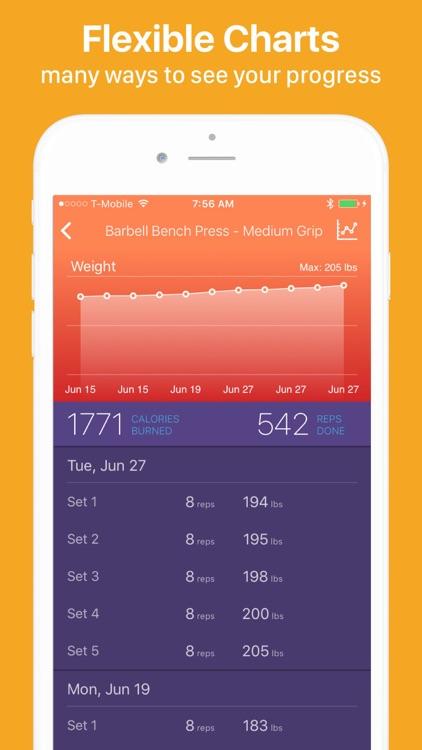 Gymatic Workout Tracker screenshot-8