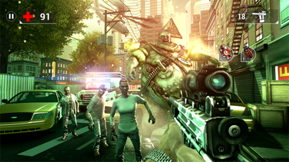 Screenshot of UNKILLED - Zombie Sparatutto4