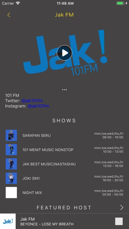 NOICE Radio Music App