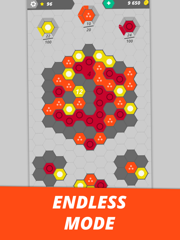Hexme - IQ & Puzzle game screenshot 13