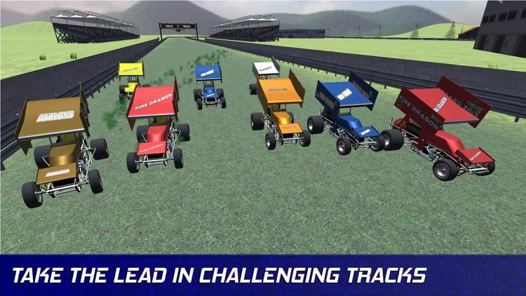 Outlaws Racing - Sprint Cars screenshot-3