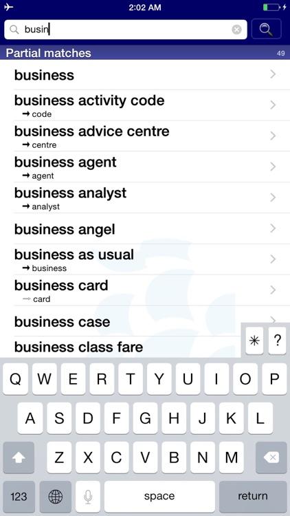 Longman Business English Dict screenshot-3