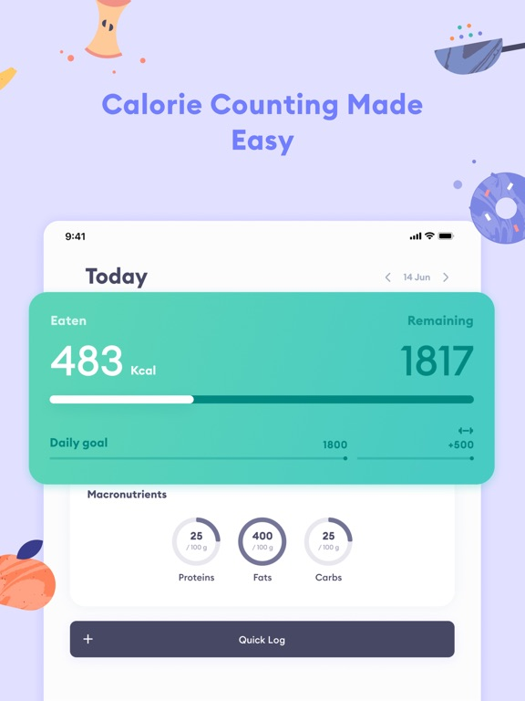 Berry: Calorie Counter & Diet screenshot 8