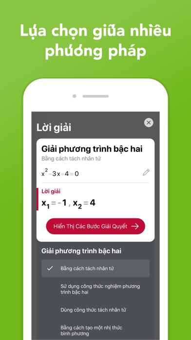 Screenshot for Photomath in Viet Nam App Store