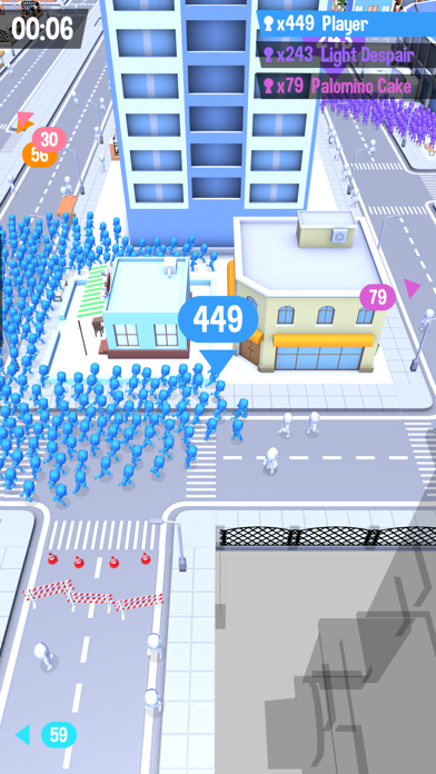 Screenshot for Crowd City in Japan App Store