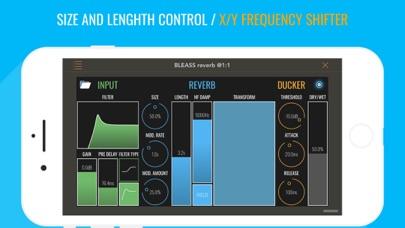 BLEASS reverb AUv3 AudioPlugin