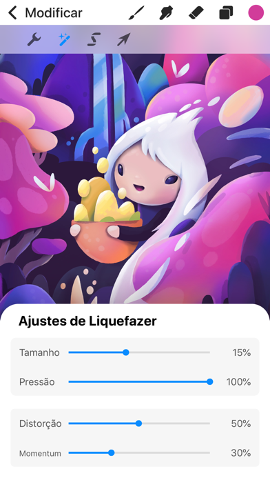 Screenshot for Procreate Pocket in Portugal App Store