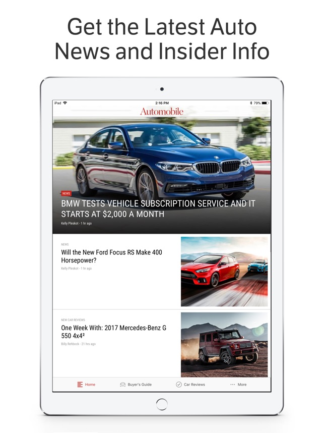 Automobile News & Reviews on the App Store