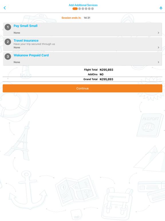 Wakanow Mobile screenshot 13