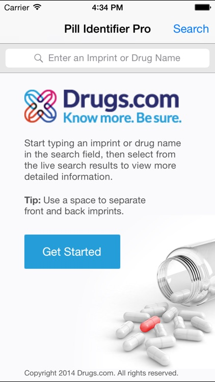 Pill ID Pro by Drugs.com screenshot-0