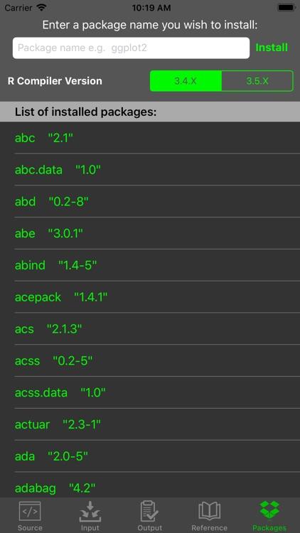 R Programming Compiler screenshot-7