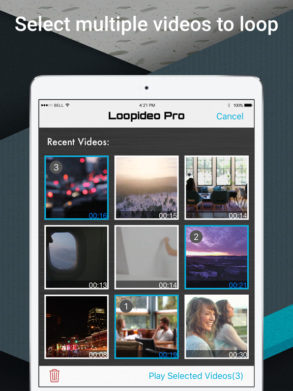 Loopideo Pro-vidéos Loop