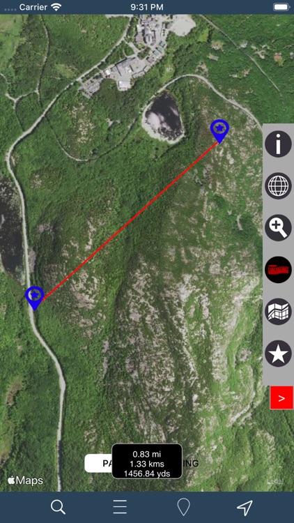 Acadia National Park – GPS screenshot-5