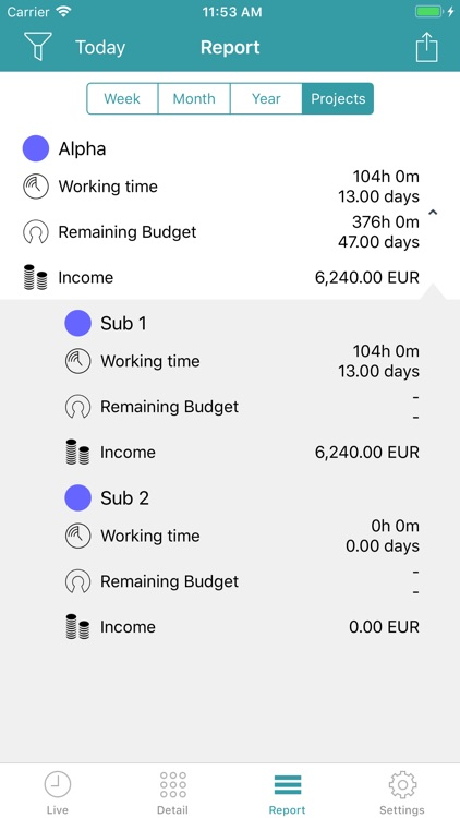 aXTimes Pro - time tracking screenshot-4